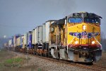 Southbound UP Intermodal Train